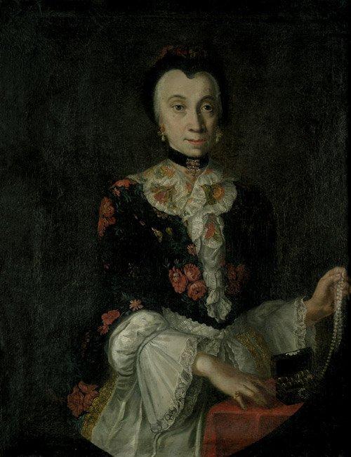 6316: Lisiewska, Anna Rosina von: Bildnis einer Dame mi