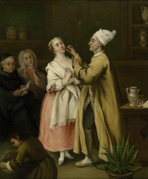 6317: Longhi, Pietro - nach: Der Apotheker