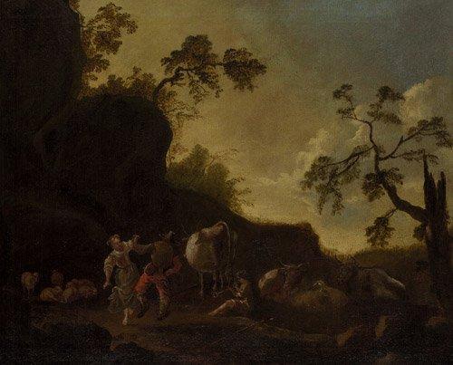 6323: Niederländisch: Tanzendes Paar