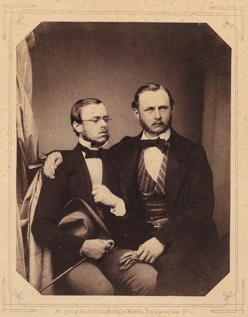 4511: Bavarian Noblemen: Group of Portraits