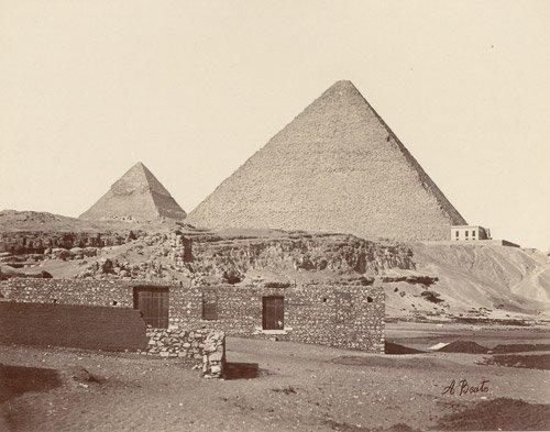 4512: Beato, Antonio: Monuments and Statues of Egypt