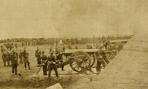 4523: Brady, Mathew: View of Fort Richardson, Virginia