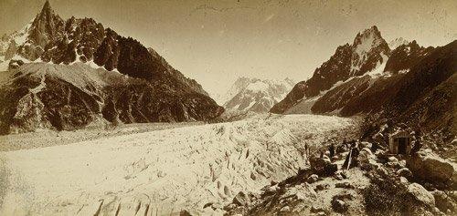 4524: Braun, Adolphe: Alpine panaramic views