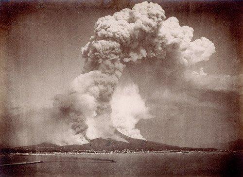 4562A: Mount Vesuvius (Giorgio Sommer): Views of the Ve