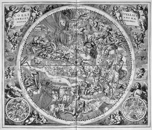 7: Cellarius, Andreas: Harmonia macrocosmica. Amsterdam