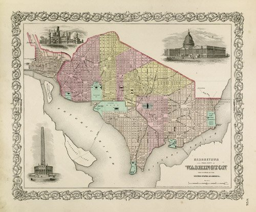 8: Colton, George Woolworth: Colton's Atlas of the Worl