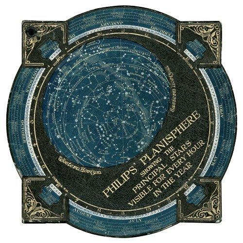 14: Philips, Georg: Planisphere showing stars. London u