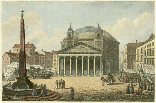 134: Merigot, James: A Select Collection of Rome. 1819
