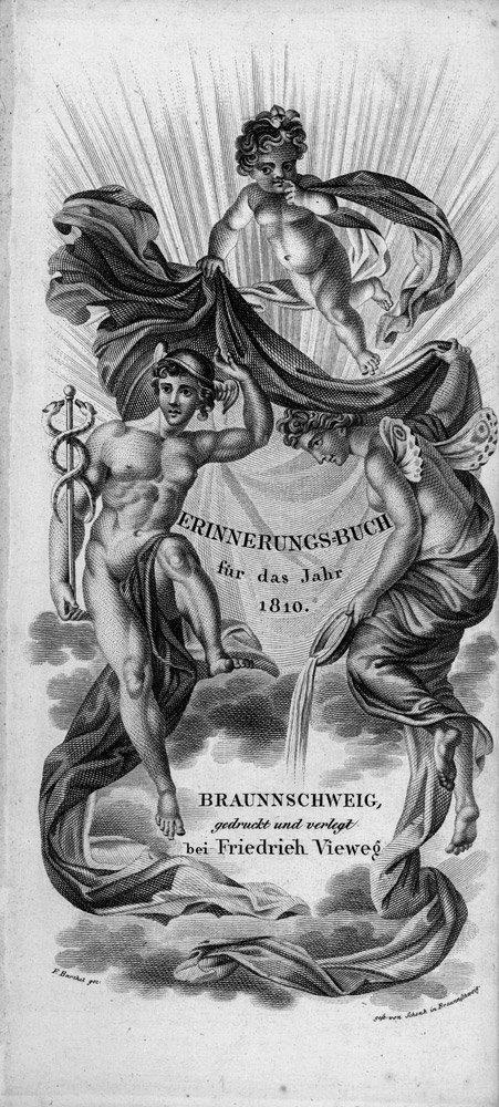 1806: 1806: Erinnerungs-Buch für das Jahr 1810: Braunsc