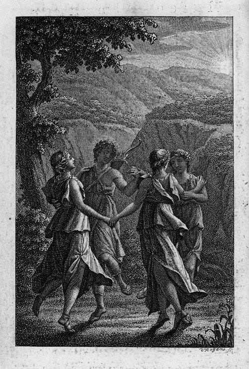 1811: 1811: Schiller, Friedrich: Musen-Almanach für das