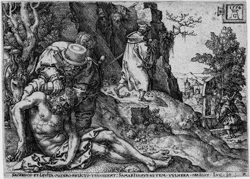 5001: Aldegrever, Heinrich: Die Parabel des barmherzige