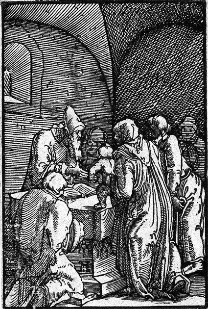5005: Altdorfer, Albrecht: Beschneidung Christi, Christ