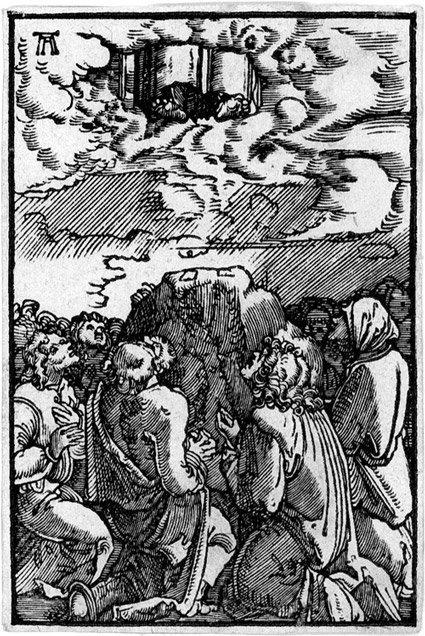 5007: Altdorfer, Albrecht: Ecce Homo, Himmelfahrt Chris