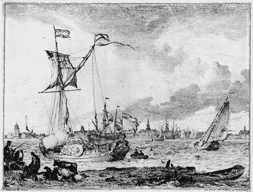 5017: Backhuizen, Ludolf : Folge von zehn Seestücken