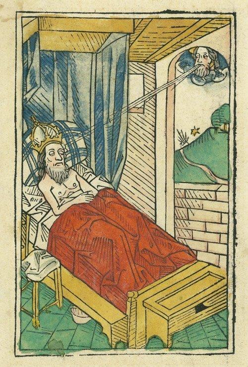 5019: Bämler, Johann: Der träumende Kaiser Sigismund im