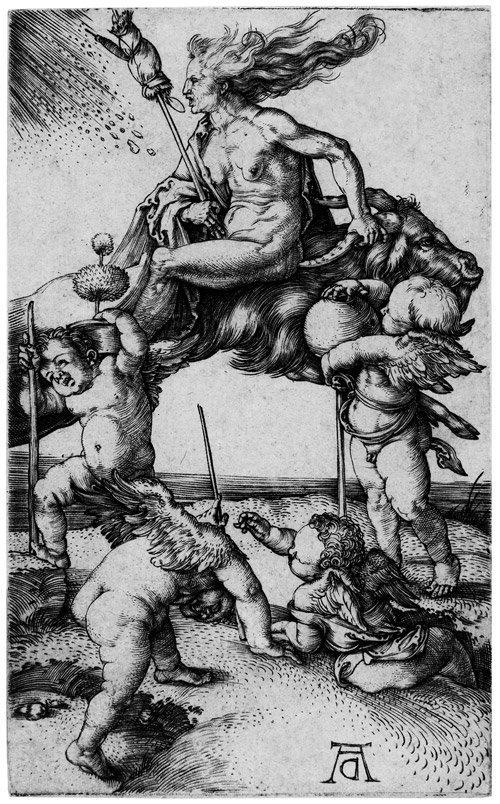 5126: Dürer, Albrecht: Die Hexe