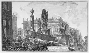 5383: Piranesi, Giovanni Battista: Veduta del Campidogl