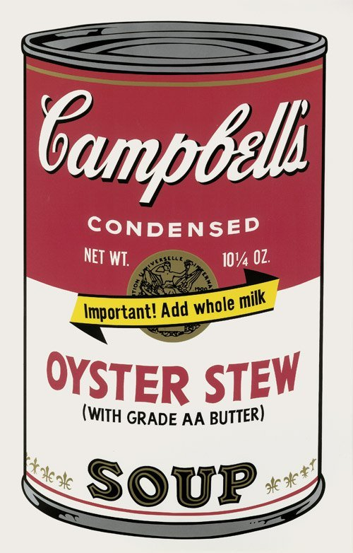 8247: Warhol, Andy: Campell's Soup, Oyster Stew