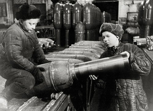 4005: Kudojarow, Boris: Leningrad Blockade: Ammunition