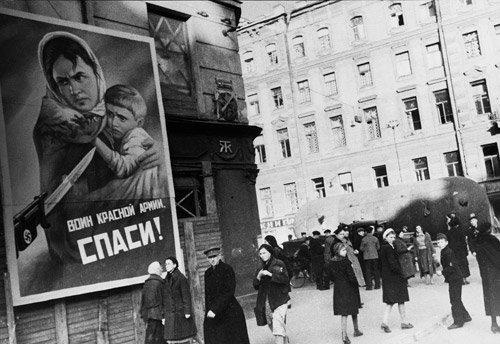 4008: Kudojarow, Boris: Leningrad Blockade: People in S
