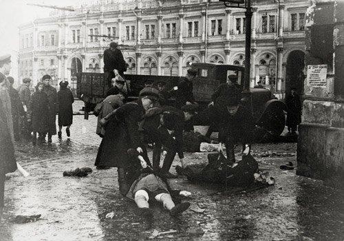 4019: Kudojarow, Boris: Leningrad Blockade: After Artil