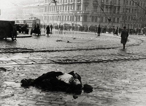 4020: Kudojarow, Boris: Leningrad Blockade: Victims of