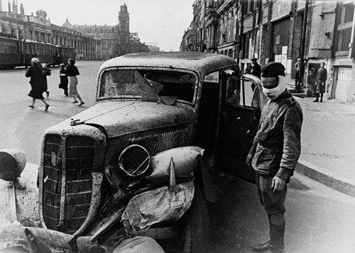 4022: Kudojarow, Boris: Leningrad Blockade: Destroyed C