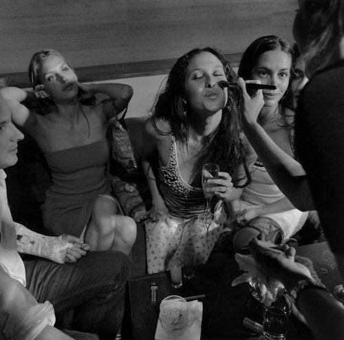 4316: Fink, Larry: Moomba Club, New York City