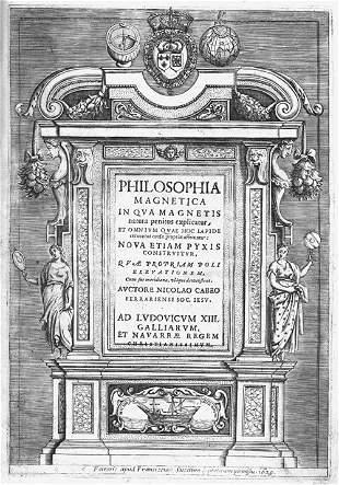 Cabeo, Nicolao: Philosophia magnetica