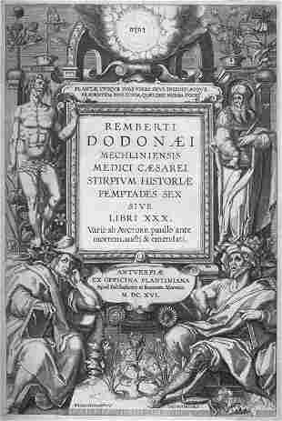 Dodonaeus, Rembertus: Stirpium historiae pemptades