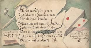 Stammbuch: C. G. Bernhardi