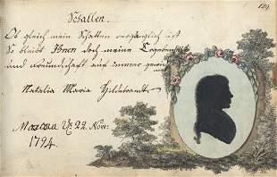 Stammbuch: L. W. Honrich
