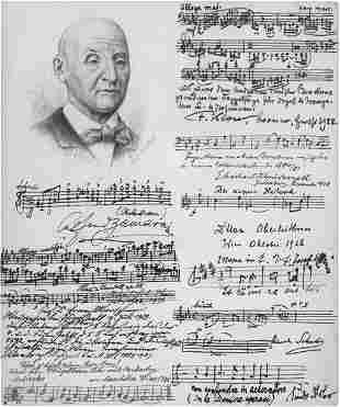 Anton-Bruckner-Schüler: 9 Musikzitate auf 1 Blatt
