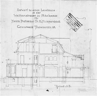 Humperdinck, Engelbert, : Konvolut Briefe und Kar