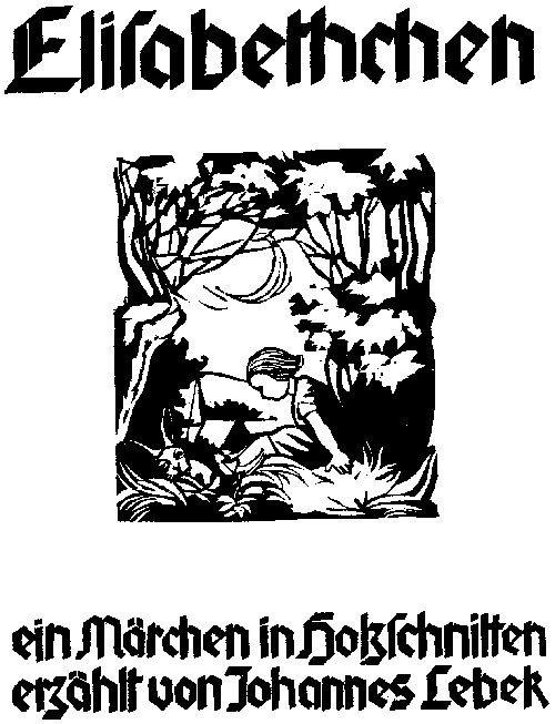 3542: Lebek, Johannes: Elisabethchen