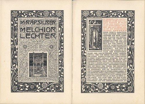 3543: Lechter, Melchior: Berliner Kunst