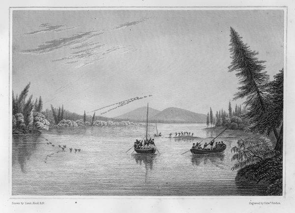 408: Franklin, John: Narrative of a journey