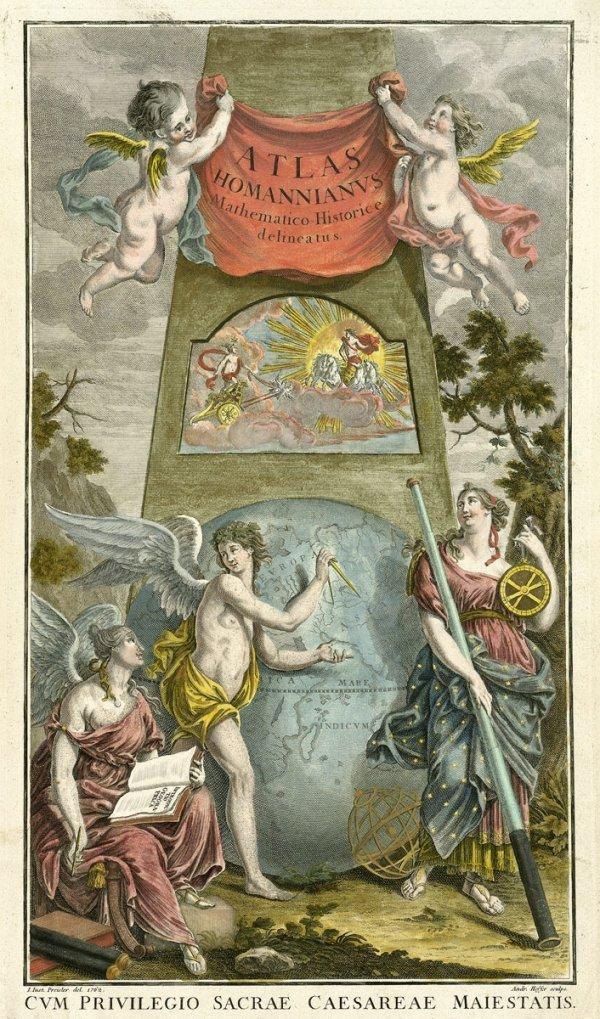 409: Homann, Johann Baptist: Grosser Atlas über die Gan