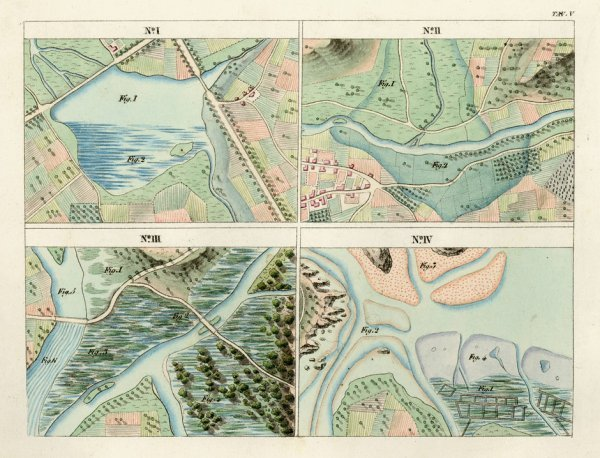 413: Perrot, A. M.: Modèles de topographie