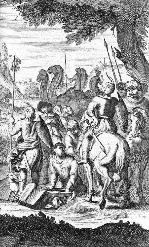 416: Valle, Pietro della: Reiß-Beschreibung
