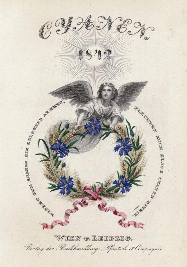 1413: Cyanen: Taschenbuch für 1840 [-43], 4 Jgge
