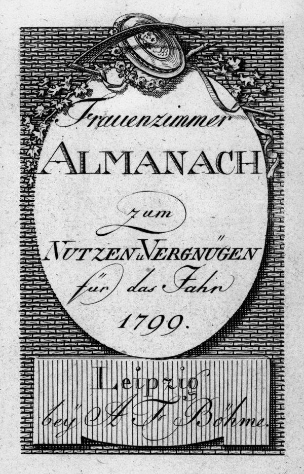 1421: Leipziger Taschenbuch für Frauenzimmer : zum Nutz