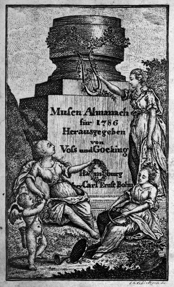 1423: Musenalmanach für das Jahr 1786 [-98]: 3 Jgge