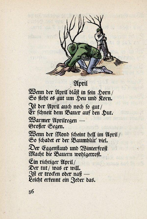 2790: Haldy, Br.: Die deutschen Bauernregeln