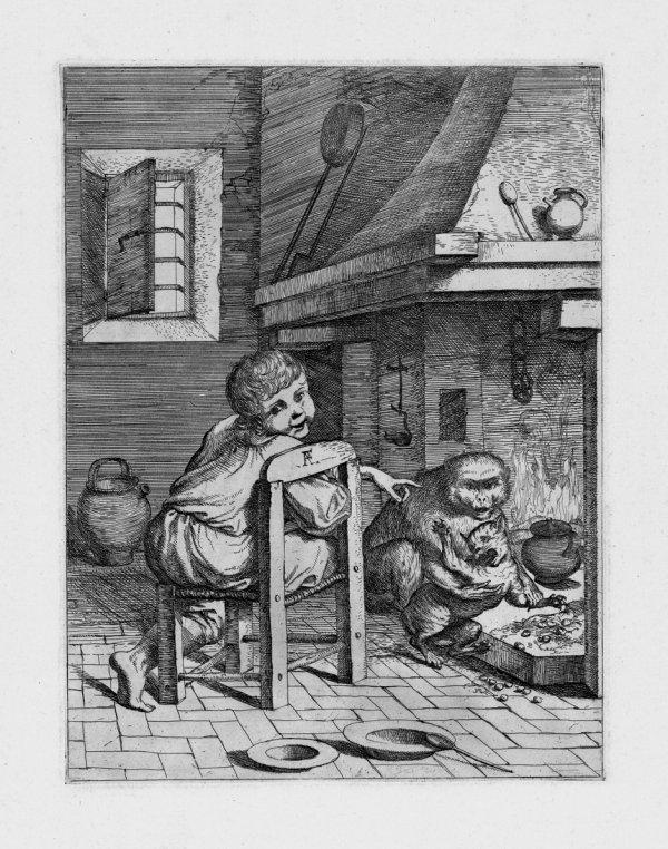 5002: Alberti, Pietro Francesco: Allegorische Darstellu