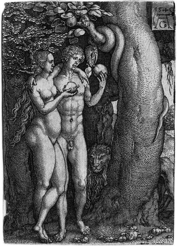 5003: Aldegrever, Heinrich: Die Geschichte von Adam und