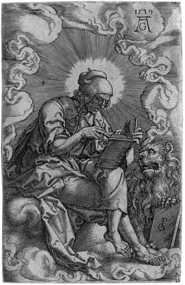 5005: Aldegrever, Heinrich: Die vier Evangelisten
