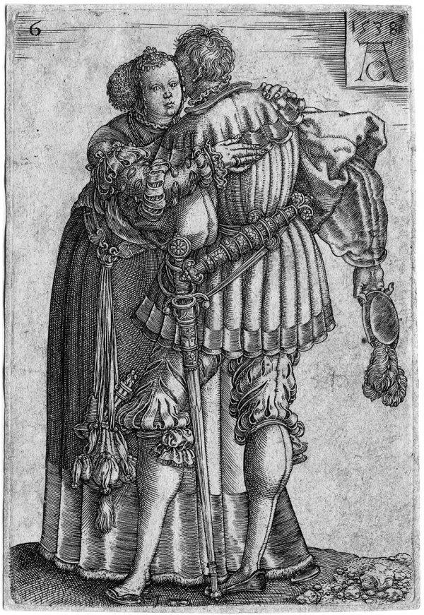 5007: Aldegrever, Heinrich: Die großen Hochzeitstänzer
