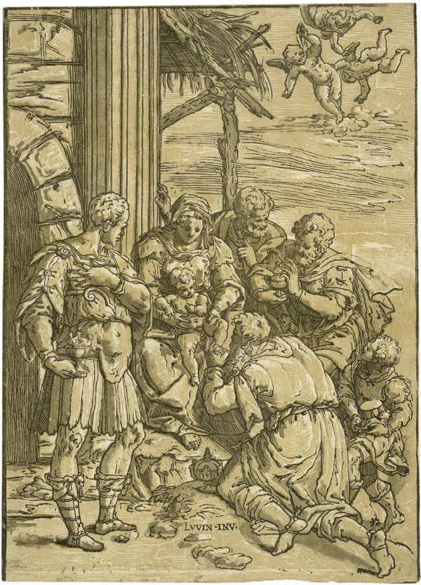 5010: Andreani, Andrea: Die Anbetung der Könige