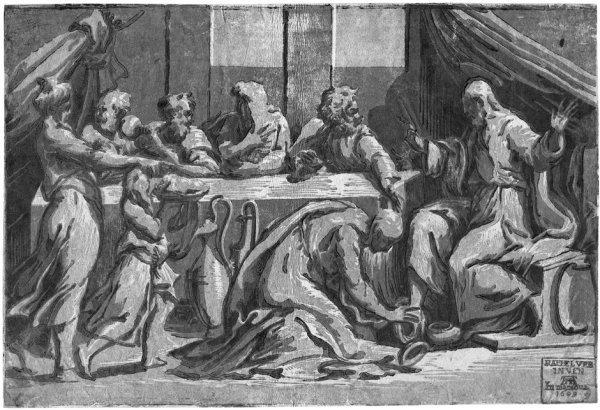 5011: Andreani, Andrea: Christus im Hause des Simon